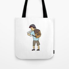 Backpacker Tote Bag