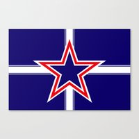 Southern Cross flag  Canvas Print