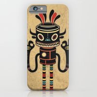 iPhone & iPod Case featuring Tribe Gathering by Exit Man