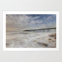 Birnbeck Pier Art Print