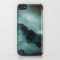 iPod Touch Cases featuring On the top of the world by UtArt