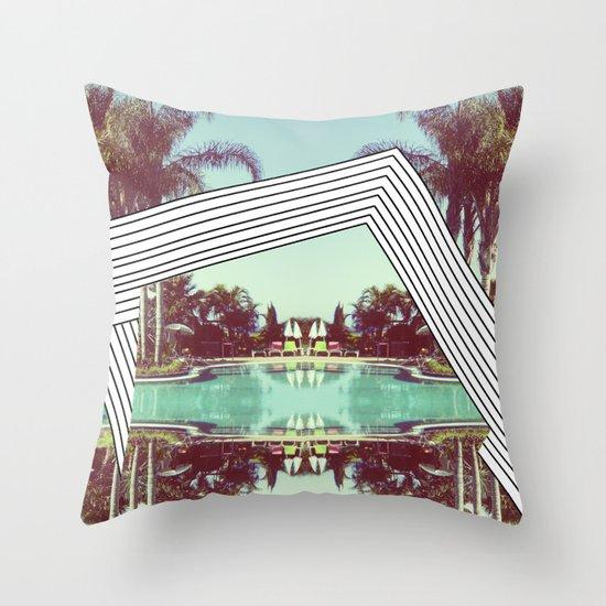 Tropics Trip Throw Pillow