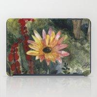 Vibrant Blossom iPad Case
