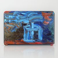 Blue Flower iPad Case