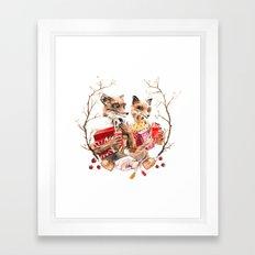 The Fantastic Foxes Framed Art Print