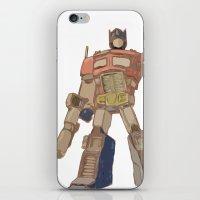Optimus Prime iPhone & iPod Skin