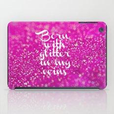 Glitter in my Veins II (Photo of Glitter) iPad Case