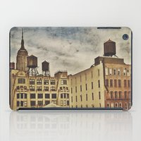 Water Towers iPad Case