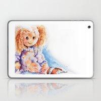 Raggedy Rosie ... Rag Do… Laptop & iPad Skin