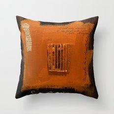 SAVE BABEL GOLD Throw Pillow