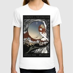How Big, How Blue, How Beautiful Womens Fitted Tee White SMALL