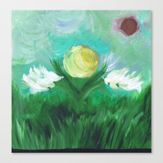 Abstract Scene Canvas Print