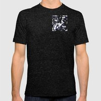 MTHSN_BLUE ID Mens Fitted Tee Tri-Black SMALL