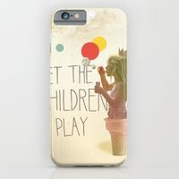 Let The Children Play iPhone 6 Slim Case