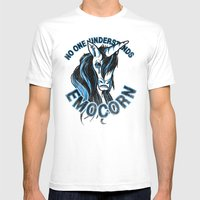 Nobody Understands Emoco… Mens Fitted Tee White SMALL