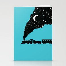 the night train Stationery Cards
