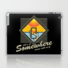 WARM WITH WI-FI Laptop & iPad Skin