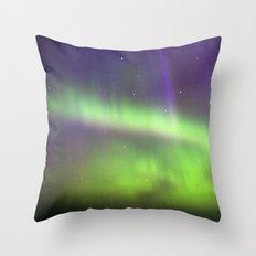Dancing Lights Throw Pillow