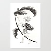 Tink of Neverland Canvas Print