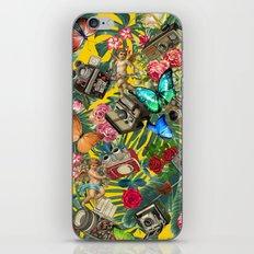 tropical in yellow  iPhone & iPod Skin
