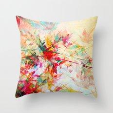 Abstract Autumn 2 Throw Pillow
