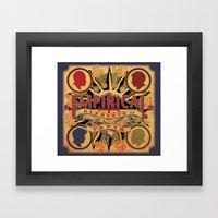 Empirical 'Elements of Truth' Album cover Framed Art Print
