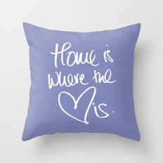 Home is where the heart is 2 Throw Pillow