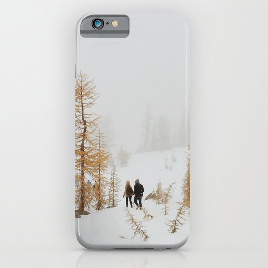 Walking in Larch Land iPhone & iPod Case