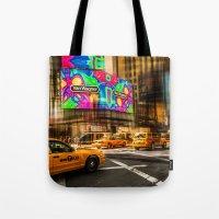 New York - Van Wagner Tote Bag