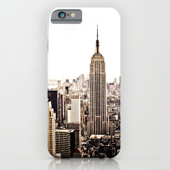 New York City Skyline iPhone & iPod Case