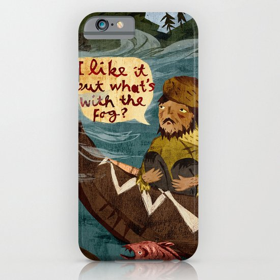 Postcard from Lewis + Clark iPhone & iPod Case