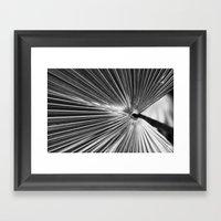 Radial Framed Art Print