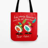 toucan-can Tote Bag