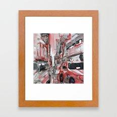 taxi-cab-381233.jpg Framed Art Print