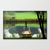 Colourful Pier Canvas Print