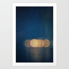 Mirage -- Abstract Light Photo Montage Art Print