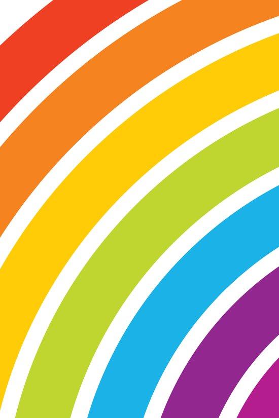A Rainbow World Art Print