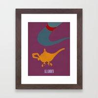 Aladdin Framed Art Print
