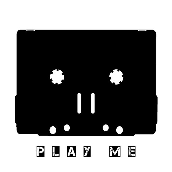 Cassette Tape Play Me  Art Print