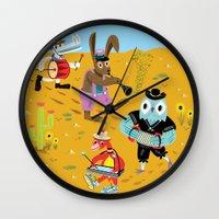 The Animal Jamboree Wall Clock