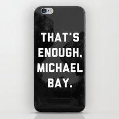 Bayhem  iPhone & iPod Skin