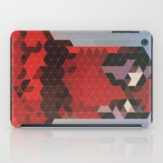 Geometric Deadpool iPad Case