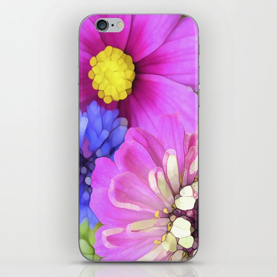 For the Love of Color iPhone & iPod Skin