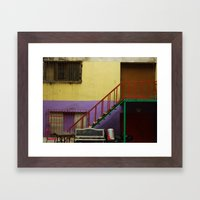 Razzle Dazzle Framed Art Print