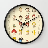 The Marvelous Cartoon Wi… Wall Clock