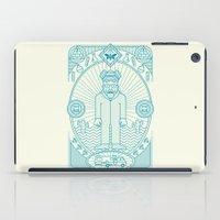 Crystal Blue Jam  iPad Case