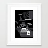 One thing was certain... Framed Art Print