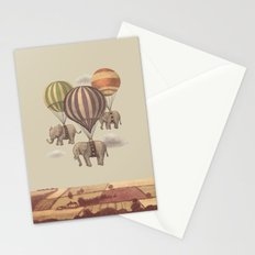 Flight of the Elephants  Stationery Cards