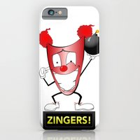 iPhone & iPod Case featuring Zany Zinger T-Shirt by MindFrost Solutions