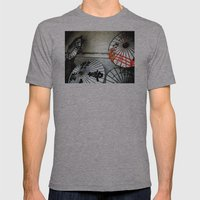 Umbrellas  Mens Fitted Tee Athletic Grey SMALL